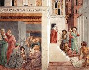 Scenes from the Life of St Francis (Scene 1, north wall) g GOZZOLI, Benozzo